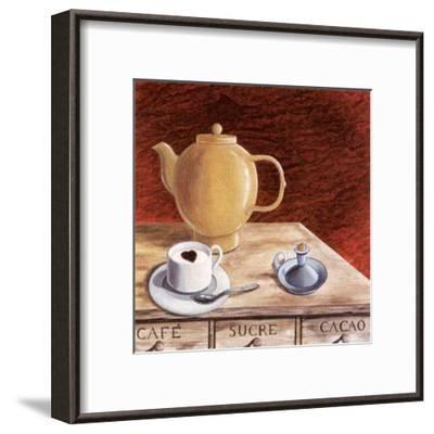Lover Cappuccino-J^l^ Vittel-Framed Art Print