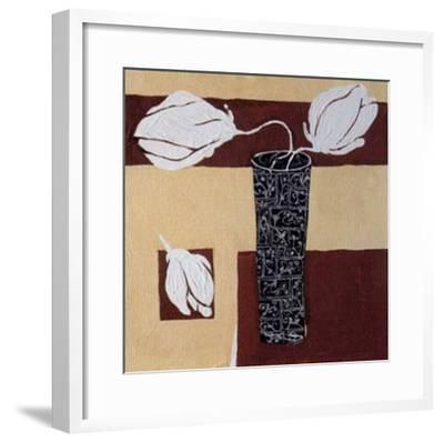 A Touch of White II-R^ Lange-Framed Art Print