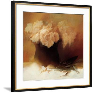Roses I-Peggy Silbermann-Framed Art Print