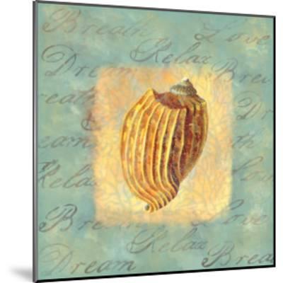Spa Sea Shell I--Mounted Giclee Print