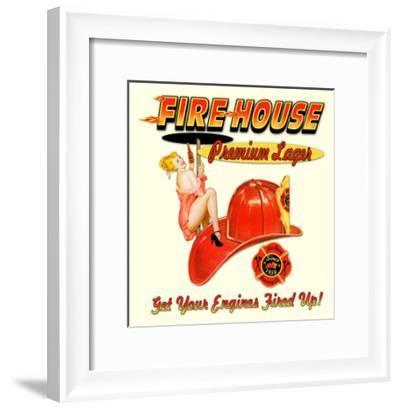 Fire House Lager--Framed Giclee Print