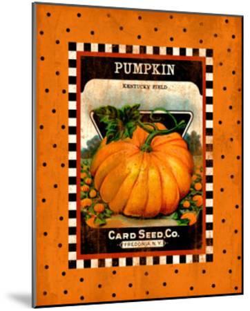 Pumpkin Seed Pack--Mounted Giclee Print
