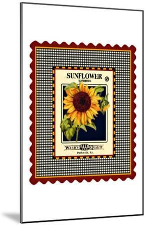 Sunflower Seed Pack--Mounted Giclee Print