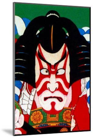 Kabuki Makeup--Mounted Giclee Print