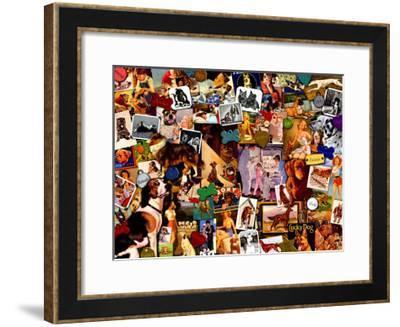 My Dog is My Best Friend-Kate Ward Thacker-Framed Giclee Print