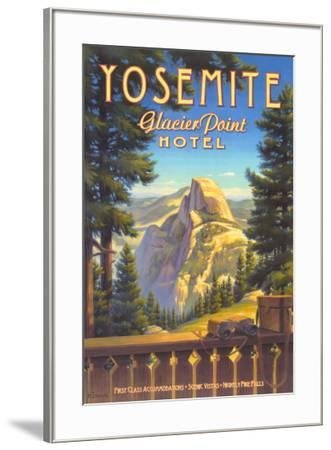 Yosemite, Glacier Point Hotel-Kerne Erickson-Framed Art Print