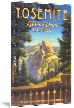Yosemite, Glacier Point Hotel-Kerne Erickson-Mounted Art Print