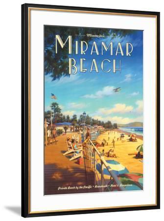 Miramar Beach, Montecitos-Kerne Erickson-Framed Art Print