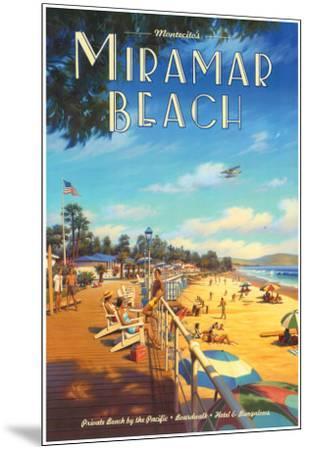 Miramar Beach, Montecitos-Kerne Erickson-Mounted Art Print