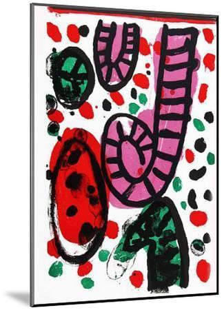 24: One Cent Life-Alan Davie-Mounted Art Print