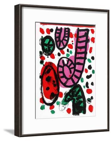 24: One Cent Life-Alan Davie-Framed Art Print