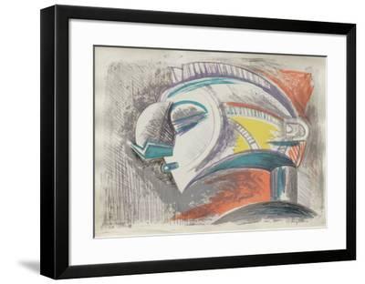 Etude II-Raul Anguiano-Framed Premium Edition