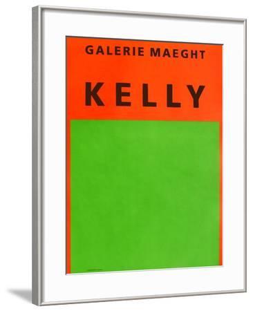 Galerie Maeght, 1964-Ellsworth Kelly-Framed Collectable Print
