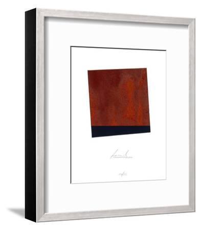 Schraege Schwarz-Juergen Freund-Framed Limited Edition