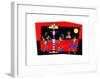 Begraebnis Fuer Einen Duesenjaeger-Etienne Rebel-Framed Limited Edition