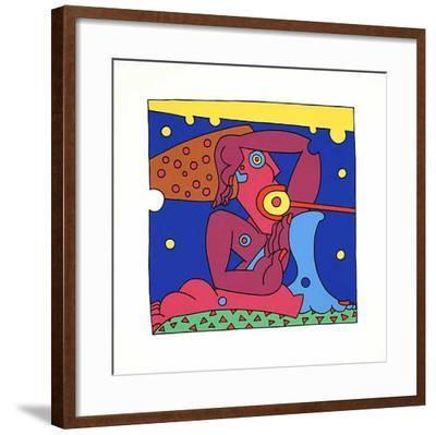 Zauberstab, 2001-Oliver Loetz-Framed Giclee Print