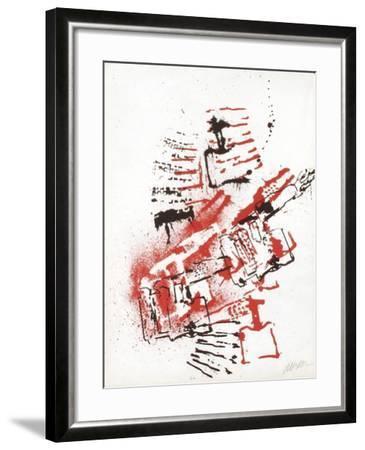 L'Interieur des Choses - la Lampe a Souder-Fernandez Arman-Framed Limited Edition