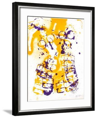 L'Interieur des Choses - le Masque a Gaz-Fernandez Arman-Framed Limited Edition