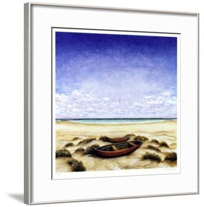 Boote Am Meer-Folkert Rasch-Framed Limited Edition
