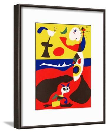 L'Ete-Joan Mir?-Framed Premium Edition