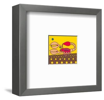 Skorpion-Oliver Loetz-Framed Art Print