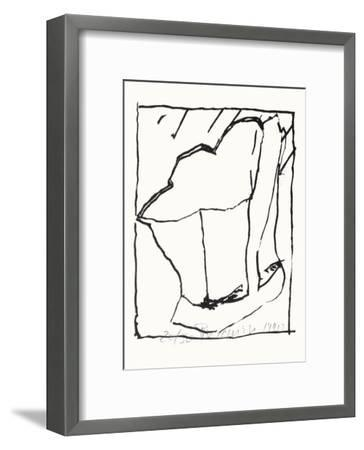 Composition 127-Jean-pierre Pincemin-Framed Limited Edition