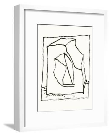 Composition 129-Jean-pierre Pincemin-Framed Limited Edition