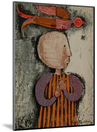 Enfant avec un oiseau I-Graciela Rodo Boulanger-Mounted Collectable Print