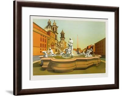 Roma-Georges Rohner-Framed Limited Edition