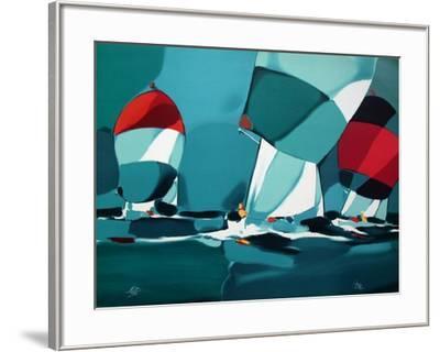 Regate III-Michel Bez-Framed Limited Edition