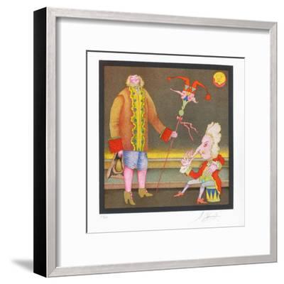 Suite Carnaval de Saint Petersbourg No. 15-Mihail Chemiakin-Framed Limited Edition