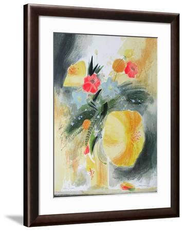 Bouquet de Printemps-Jean-claude Bligny-Framed Limited Edition