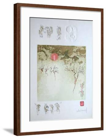 Paysage Fantastique III-Lebadang-Framed Collectable Print