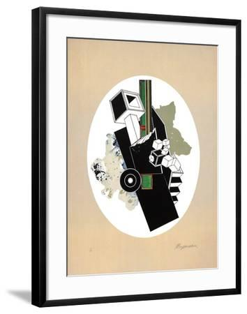 Plan II-Alain Le Yaouanc-Framed Limited Edition