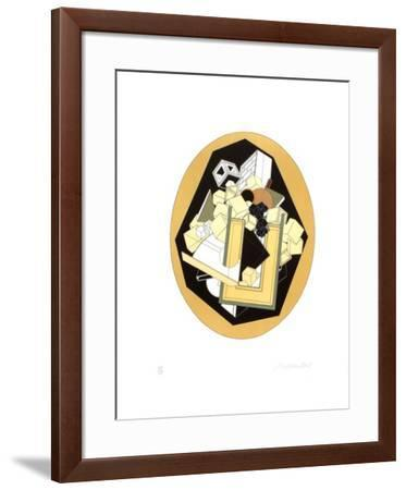 Fraction-Alain Le Yaouanc-Framed Limited Edition