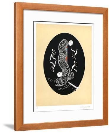 L'Explorateur du Vide-Alain Le Yaouanc-Framed Limited Edition
