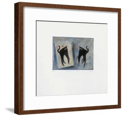 Chat - Chat-Lou G^ (Lupita Gorodine)-Framed Limited Edition