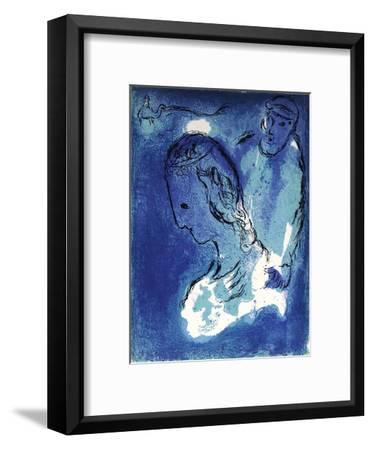 Bible: Abraham et Sarah-Marc Chagall-Framed Premium Edition