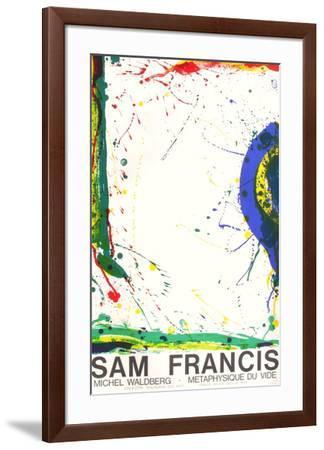 Metaphysique du Vide-Sam Francis-Framed Premium Edition
