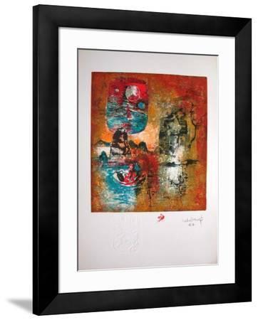 Lagune II-Lebadang-Framed Premium Edition