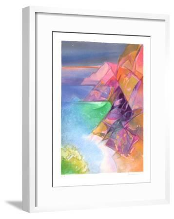 Cote d'Azur - Cap Esterel-Camille Hilaire-Framed Collectable Print