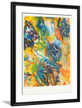 Compositon I-Peter Nyborg-Framed Limited Edition