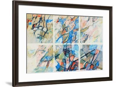 Composition Abstraite-Andre Arabis-Framed Limited Edition