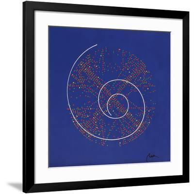 Arythmetique de la Kabbale-Robert Einbeck-Framed Limited Edition