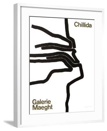 Galerie Maeght, 1964-Eduardo Chillida-Framed Collectable Print