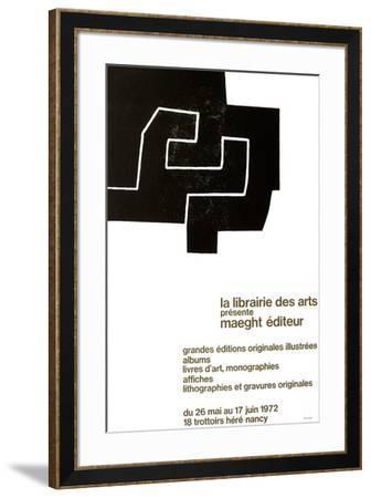 Librairie des Arts-Eduardo Chillida-Framed Collectable Print