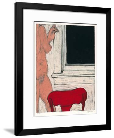 Sleeping Girl V-George Segal-Framed Limited Edition
