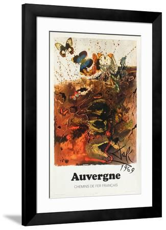 Affiches SNCF: Auvergne-Salvador Dal?-Framed Premium Edition