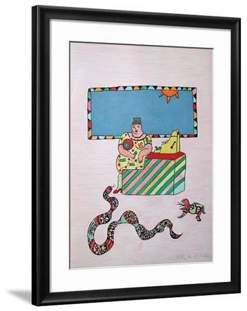 Mechant-Mechant - la Caissiere-Niki De Saint Phalle-Framed Limited Edition