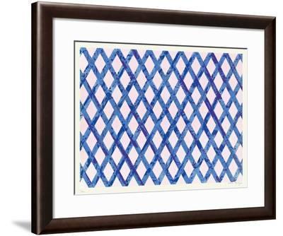 Sans Titre II-Daniel Dezeuze-Framed Limited Edition